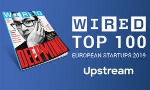 Wired Top 100 European Startups 2019 Upstream